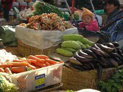 シャングリラの市場