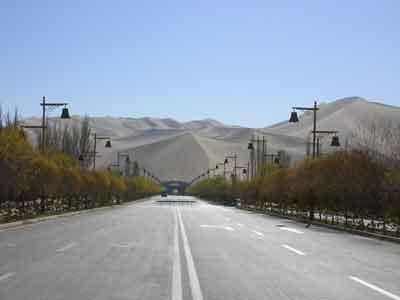 敦煌、砂漠1