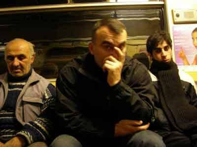 地下鉄の中