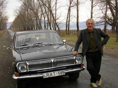 ザウリさんと愛車