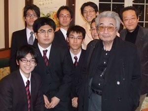 前田憲男先生と