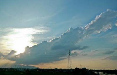 竜巻未満の雲