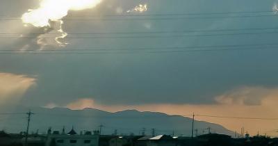 竜巻未満の雲2
