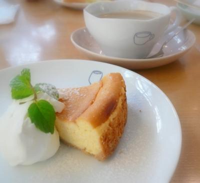 cafe yutori no kukan チーズケーキ