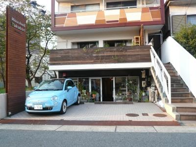 aoiku cafe ファサード