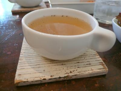 aoiku cafe スープ