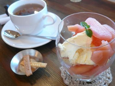 cafe Chouette りんごのコンポート
