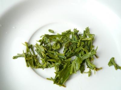 川根新茶 蒸らし