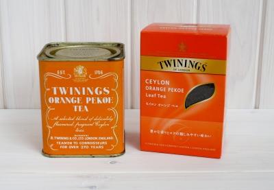 トワイニング オレンジペコ 缶