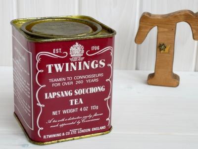 トワイニング ラプサンスーチョン 缶