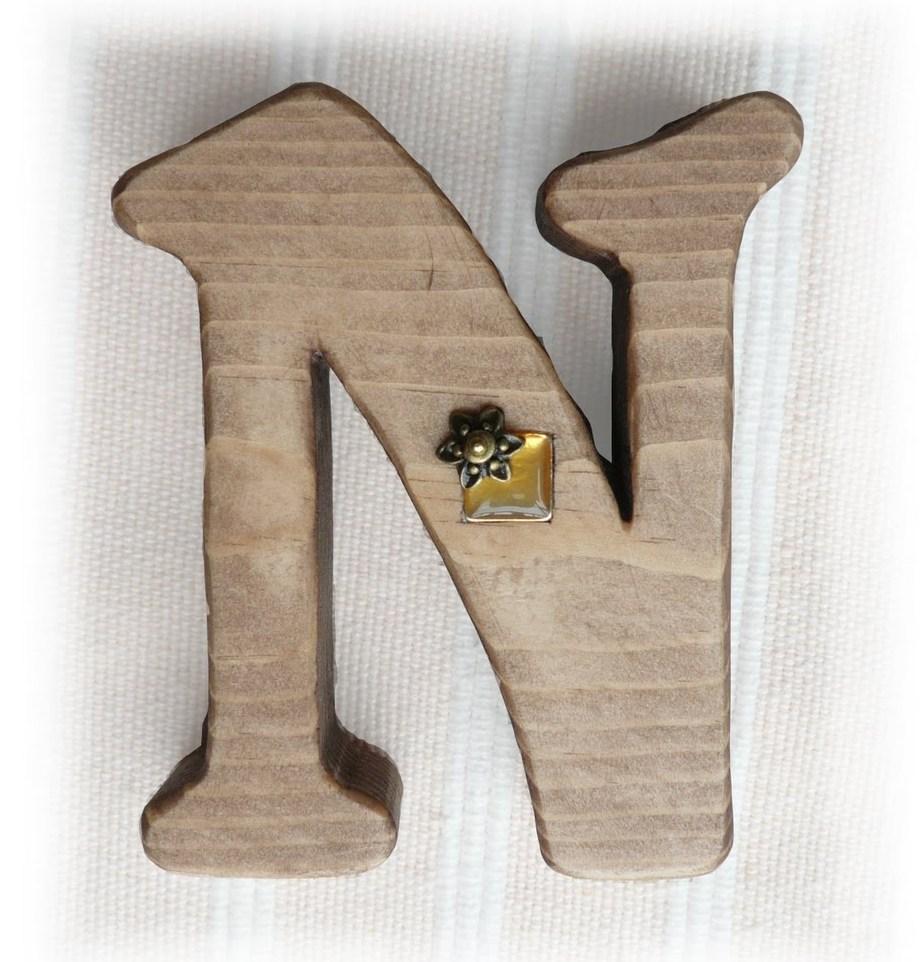 ハンドメイド木工 アルファベット