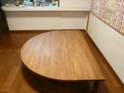 ダイニングテーブル 座卓.JPG