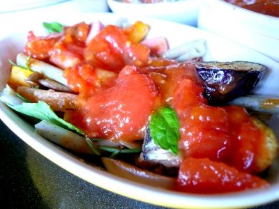イタリア料理 トマト オリーブオイル
