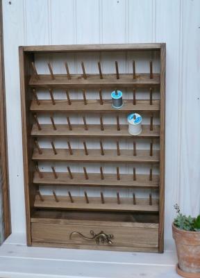 ミシン糸収納棚 木工雑貨 ハンドメイド DIY