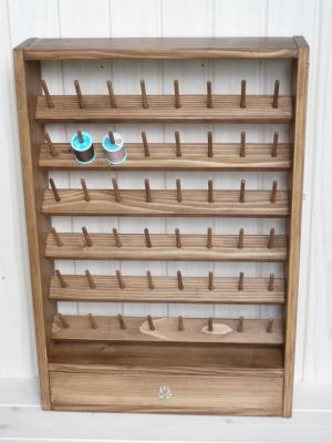 ミシン糸立て 木工雑貨 ハンドメイド