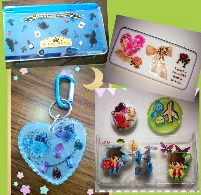 レジン 体験 子供 夏休み 3DSケース