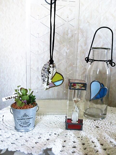 夏休み 親子 イベント 涼しい 室内 体験ワーク グラスアート