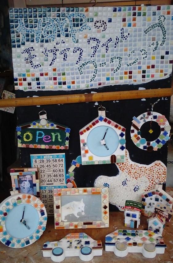 夏休み 工作 名古屋  モザイクタイルワークショップ