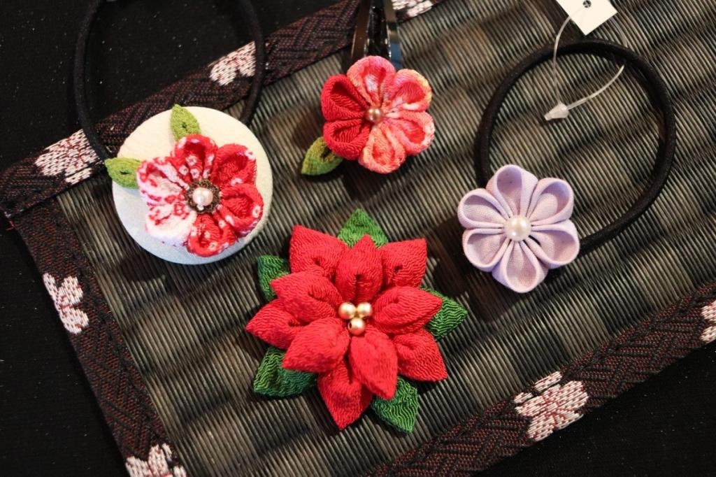 冬休み クリスマス お正月 手作り アクセサリー 髪飾り ワークショップ