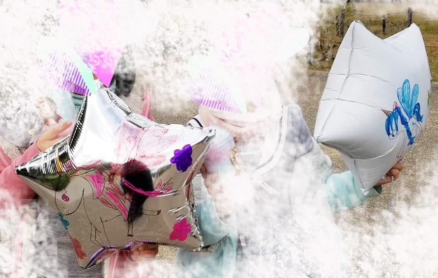夏休み 手作りイベント 大塚家具名古屋栄ショールーム 風船 バルーン お祭り