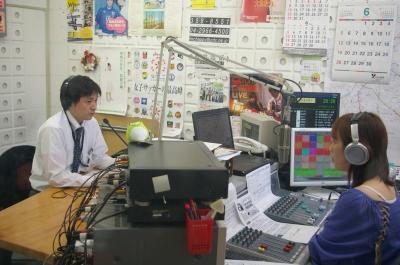 ラジオ対面