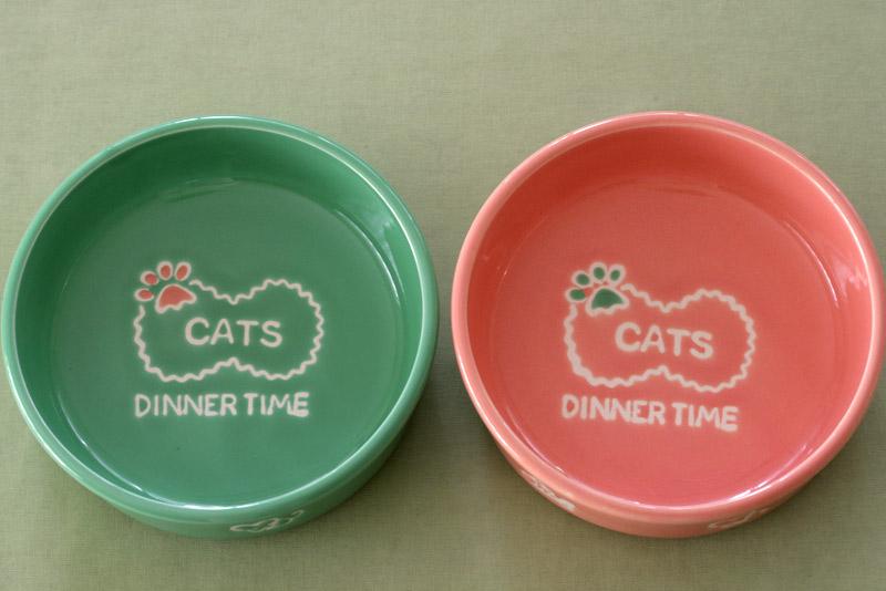 バイオセラミックス猫食器1