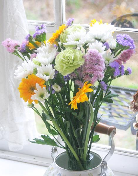 青山どうぶつ病院からジーグへの花束