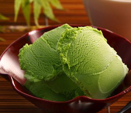 宇治抹茶アイスクリーム
