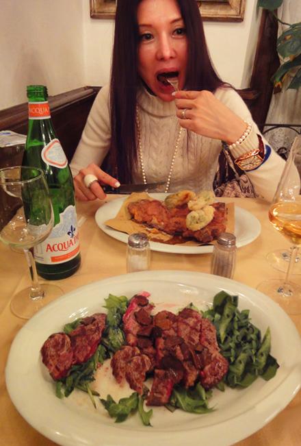 フィレンツェで一番素敵なレストラン