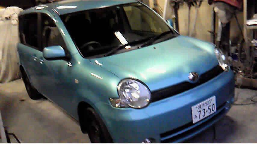 平成16年式トヨタシエンタ 68万円で買取