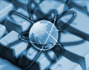 グローバルネットワークを形成するハイパーリンクのイメージ