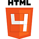 HTML4 logo