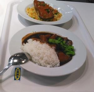 IKEAで昼食!