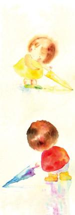 栞のイラスト