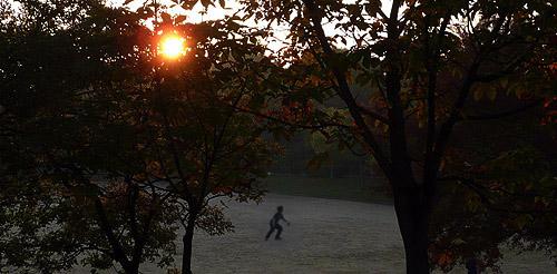 横峰公園の日の出