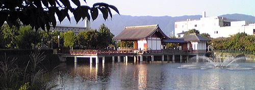 大中公園野外能楽堂