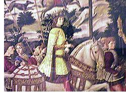 東方の三賢者に模したロレンツォの肖像