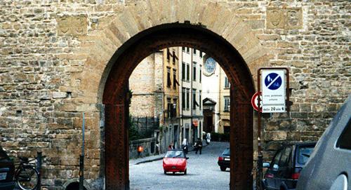 フ¥フィレンツェの城門