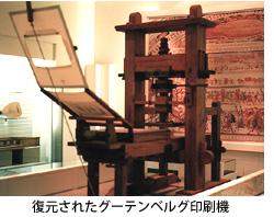 グーテンベルグ印刷機