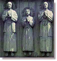 26聖人殉教碑部分