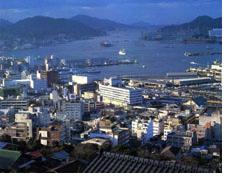 現在の長崎港
