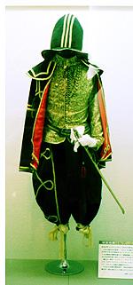 当時のポルトガル人の服装