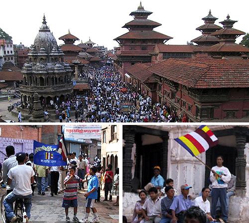 ネパールでブッダの降誕祭を体験