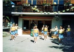 ラ・ガレン・インターナショナル・スクールの子供たち