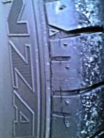 タイヤひび割れ2