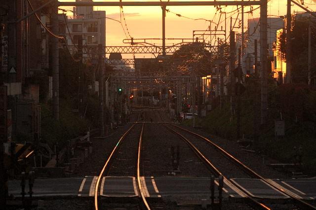 西武新宿線、新井薬師前2016.8.3