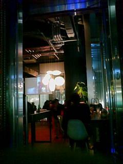 ミッドタウンの Cafe Bar