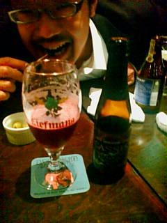 カシスのビール