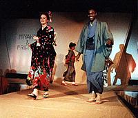 着付け・海外きものショー1993年アトランタ