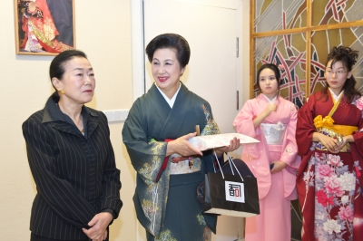 在リトアニア明石美代子日本大使